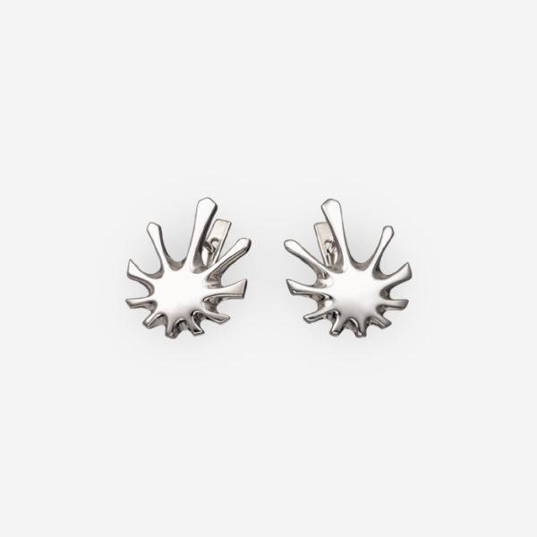 Art Deco Earrings Casting in Sterling Silver