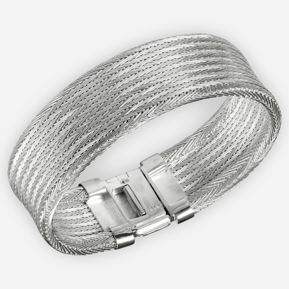 bangles sterling plain silver bangle in