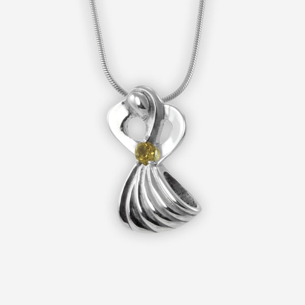 Archangel Michael Pendant Casting in Sterling Silver
