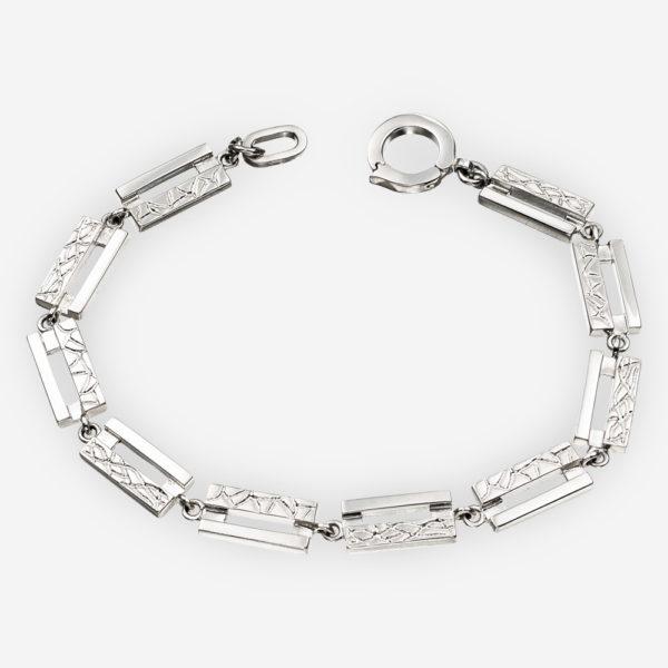 Link Bracelet Casting in Sterling Silver
